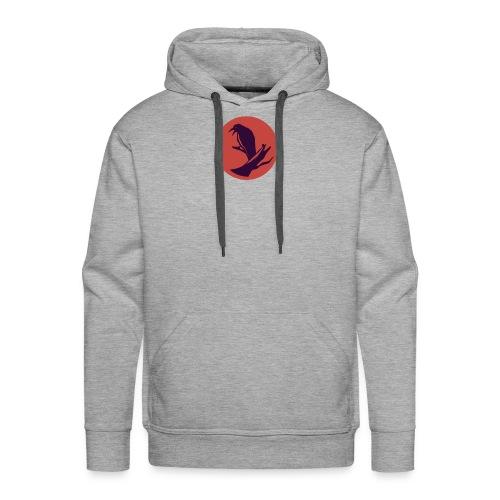 0d648f1f545ad913c20d7d6447d43449 raven circle icon - Men's Premium Hoodie