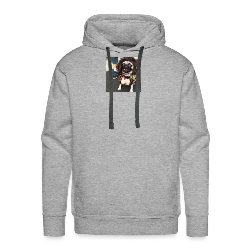 Chloe as Snooki Pug - Men's Premium Hoodie