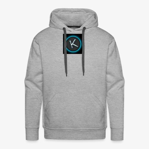 K Logo - Men's Premium Hoodie
