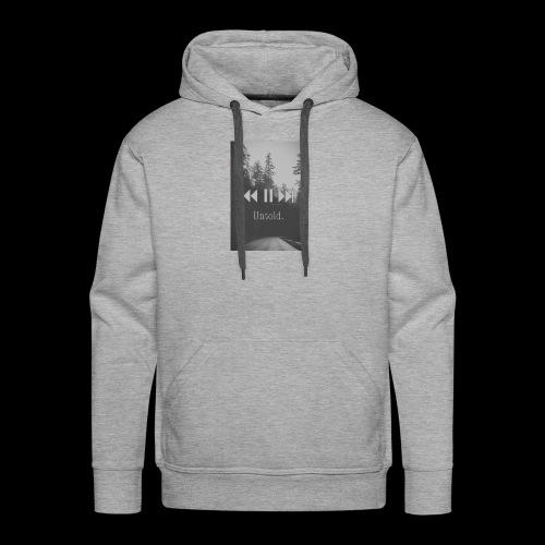 Untold. T-shirt - Men's Premium Hoodie