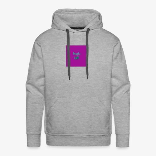 Purple Life - Men's Premium Hoodie