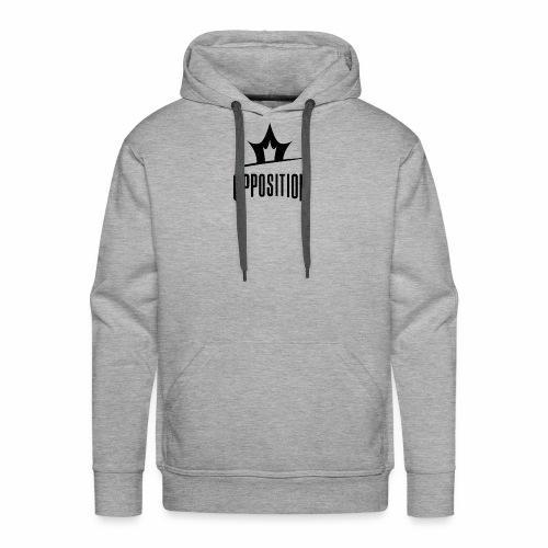 Opposition Black - Men's Premium Hoodie