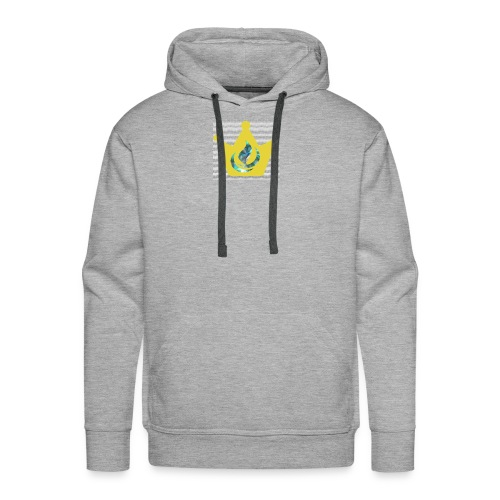 Flaming Crown - Men's Premium Hoodie