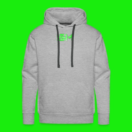 SloMotion logo - Men's Premium Hoodie