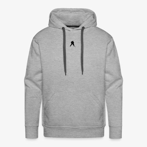 Grey Hockey Sweater - Men's Premium Hoodie