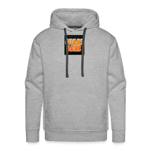 gummybairr logo - Men's Premium Hoodie