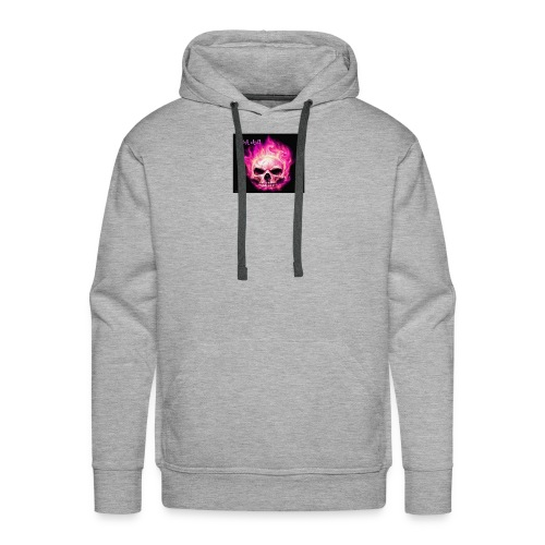 Pink Skull - Men's Premium Hoodie