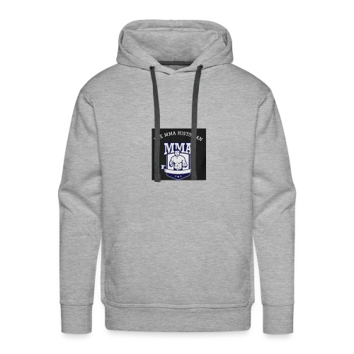 THE MMA Historian - Men's Premium Hoodie