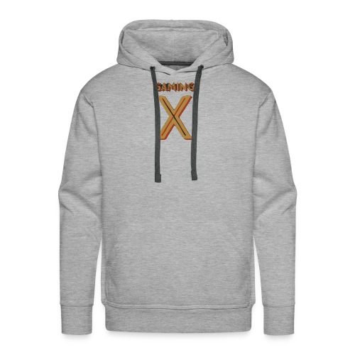 Adobe Spark 1 burned 110 - Men's Premium Hoodie