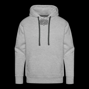 Symbol Of Love - Men's Premium Hoodie