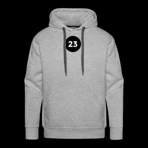 23 2014 logo - Men's Premium Hoodie
