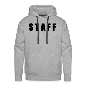 STAFF shirt - Men's Premium Hoodie