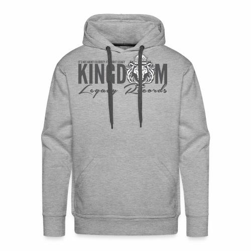 KINGDOM LEGACY RECORDS LOGO MERCHANDISE - Men's Premium Hoodie
