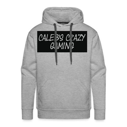 caleb's first shirt - Men's Premium Hoodie