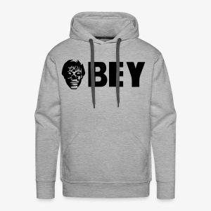 Alien OBEY Custom concept. - Men's Premium Hoodie