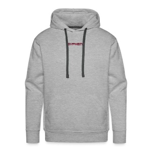 syphen text - Men's Premium Hoodie