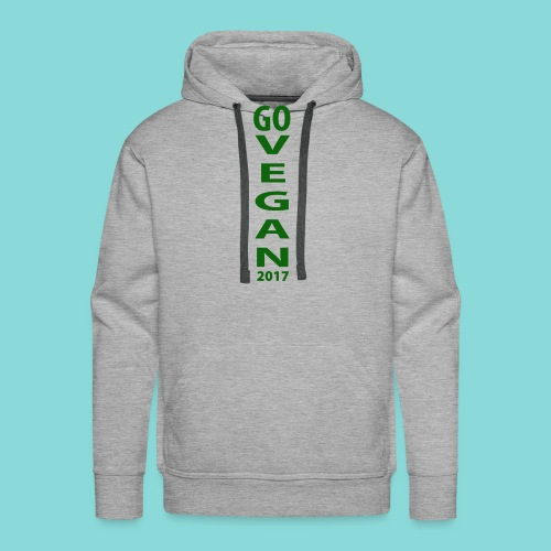 Go_Vegan_2017 - Men's Premium Hoodie