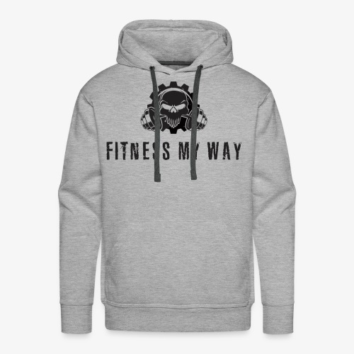 Fitness My Way - Men's Premium Hoodie