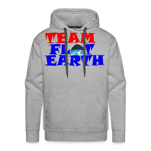 TEAM FLAT EARTH - Men's Premium Hoodie