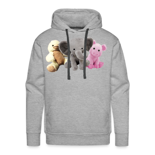 Phillip, Piggy and Ducky - Men's Premium Hoodie