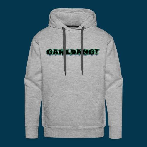 GAWLDANG (Black) - Men's Premium Hoodie