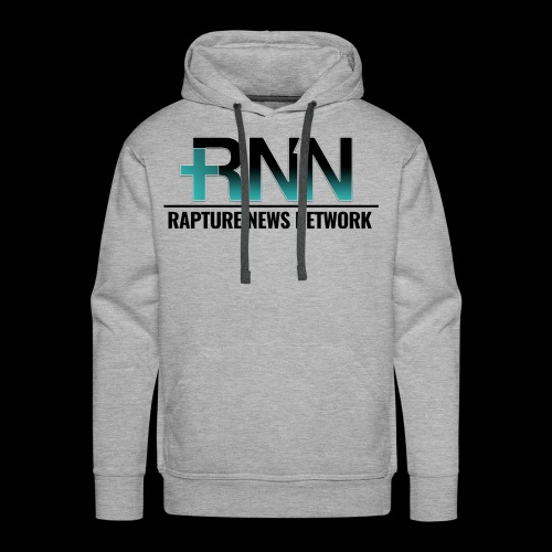 Rapture News Network Logo - Men's Premium Hoodie