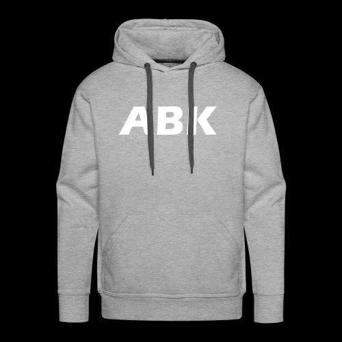 ABK White - Men's Premium Hoodie