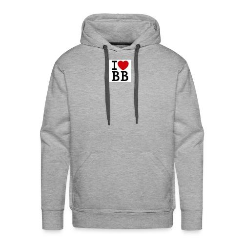 I Love BB - Men's Premium Hoodie