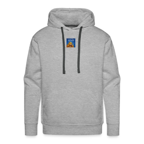 love you mummy - Men's Premium Hoodie