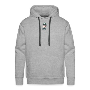 Luigi from (Mario)The Music Box By Team Ari - Men's Premium Hoodie