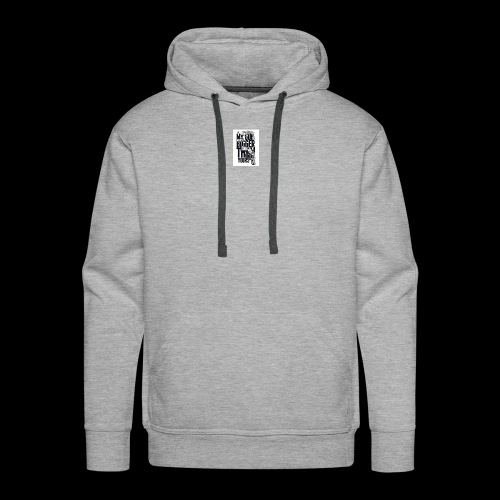 My gun is bigger - Men's Premium Hoodie