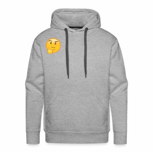 Thinking Face - Men's Premium Hoodie