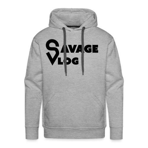 Savage Vlog EDITION - Men's Premium Hoodie