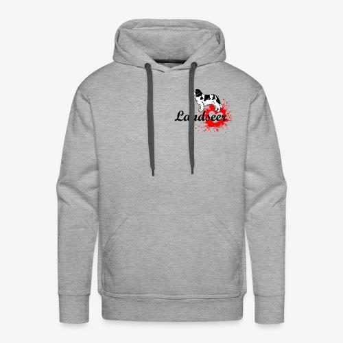 Landseer, Newfie, Newfoundland love - Men's Premium Hoodie