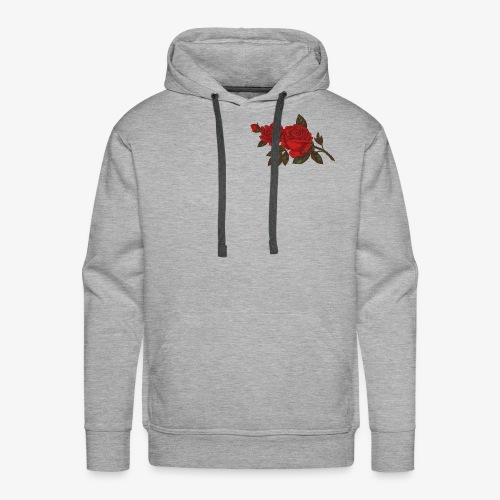 Red Roses and Thorns - Men's Premium Hoodie