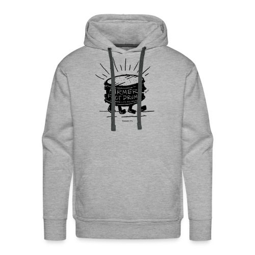 Farmer Foot Drums - Men's Premium Hoodie