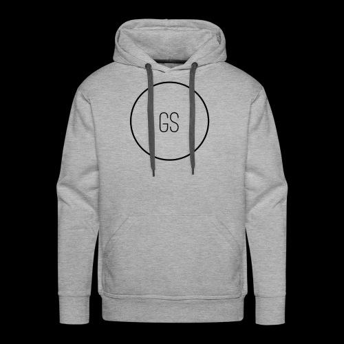 GS Large Logo - Men's Premium Hoodie