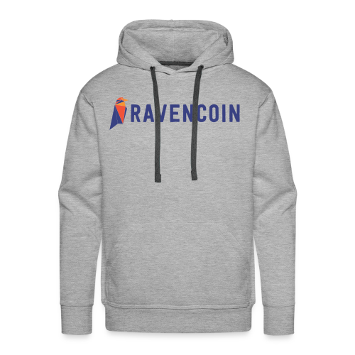 Ravencoin Bird Symbol - Men's Premium Hoodie