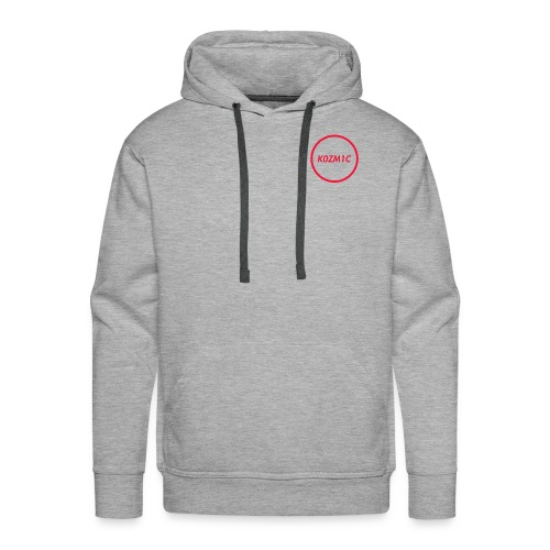 K0ZM1C Signature - Red - Men's Premium Hoodie