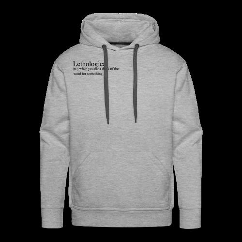 Lethologica - Men's Premium Hoodie