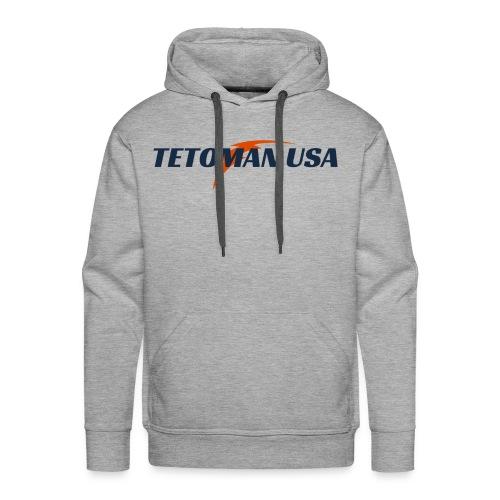 Tetoman USA! No Exceptions!!! - Men's Premium Hoodie