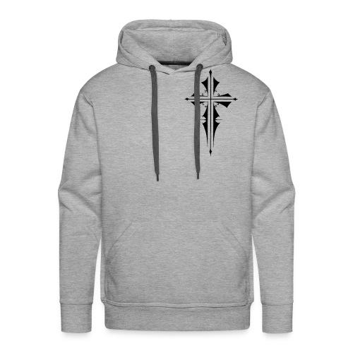 Gothic Cross - Men's Premium Hoodie