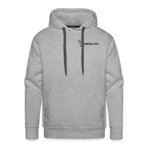 Barbell Inc Stickman (Grey) - Men's Premium Hoodie