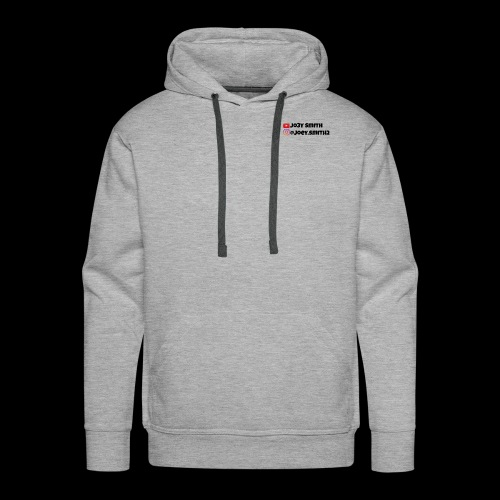 Youtube and Instragam - Men's Premium Hoodie