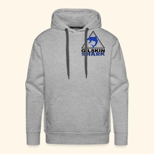 Gilskin Shark Men's Hoodie - Men's Premium Hoodie