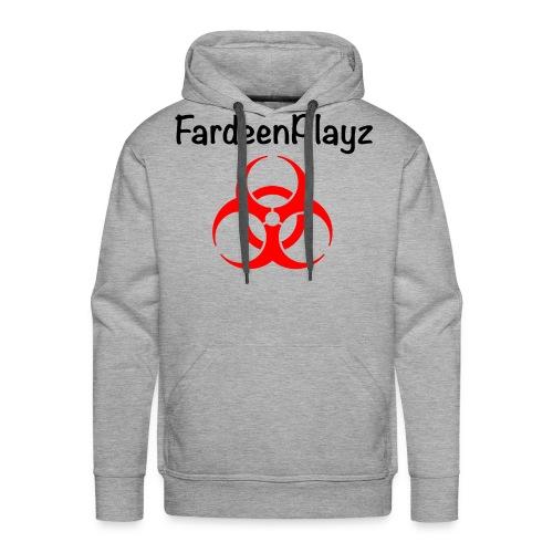 FardeenPlayz At Top W/ Logo - Men's Premium Hoodie