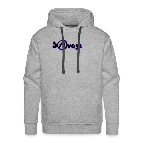 Savage V2 (Black) - Men's Premium Hoodie