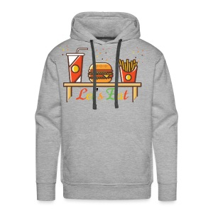 Hamburger T Shirts, Shirts & Tees - Men's Premium Hoodie