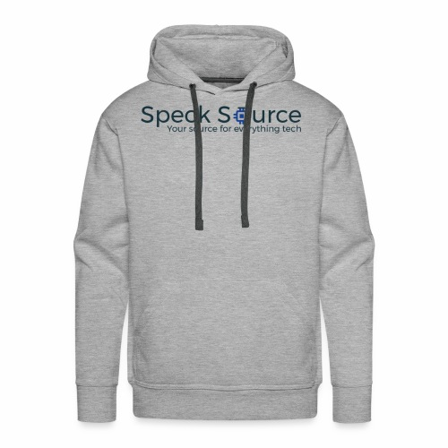 Speck Source Logo Dark - Men's Premium Hoodie