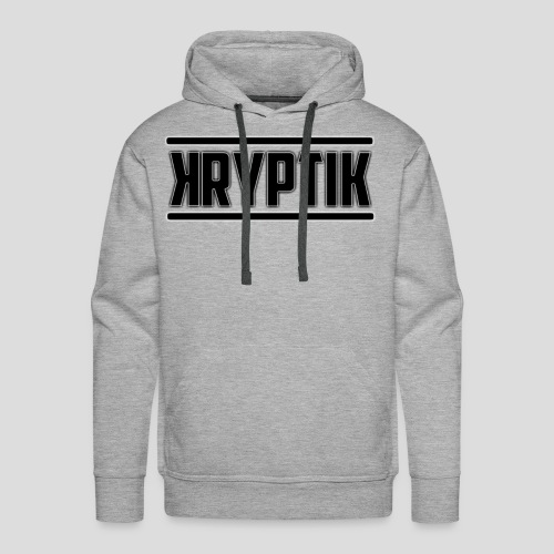 KryptikHD's Logo For YouTube - Men's Premium Hoodie